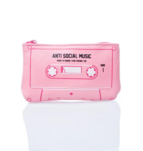 Lazy Oaf Anti Social Coin Purse