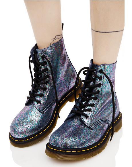 Sparkle Pascal 8 Eye Boots