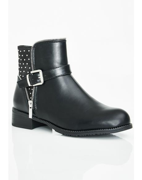 Rowdy Rider Ankle Boots