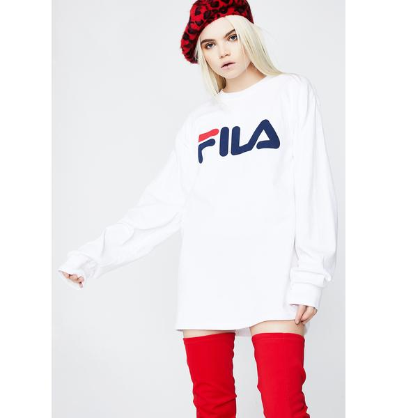 Fila Pat Long Sleeve Tee