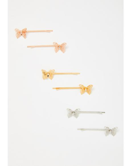 Butterfly Babe Hair Pins Set