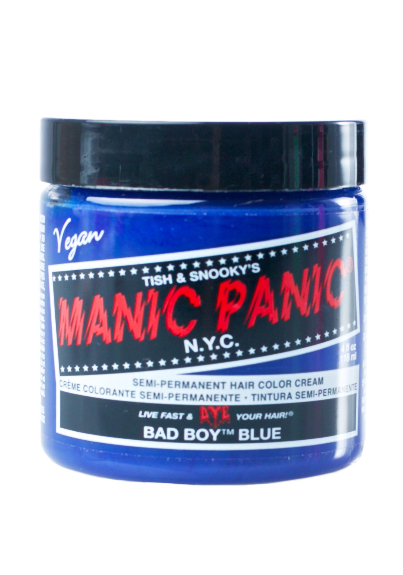 Manic Panic Bad Boy Blue High Voltage Hair Dye