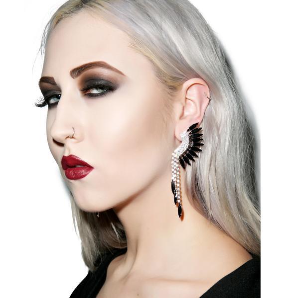 Blackhawk Earrings