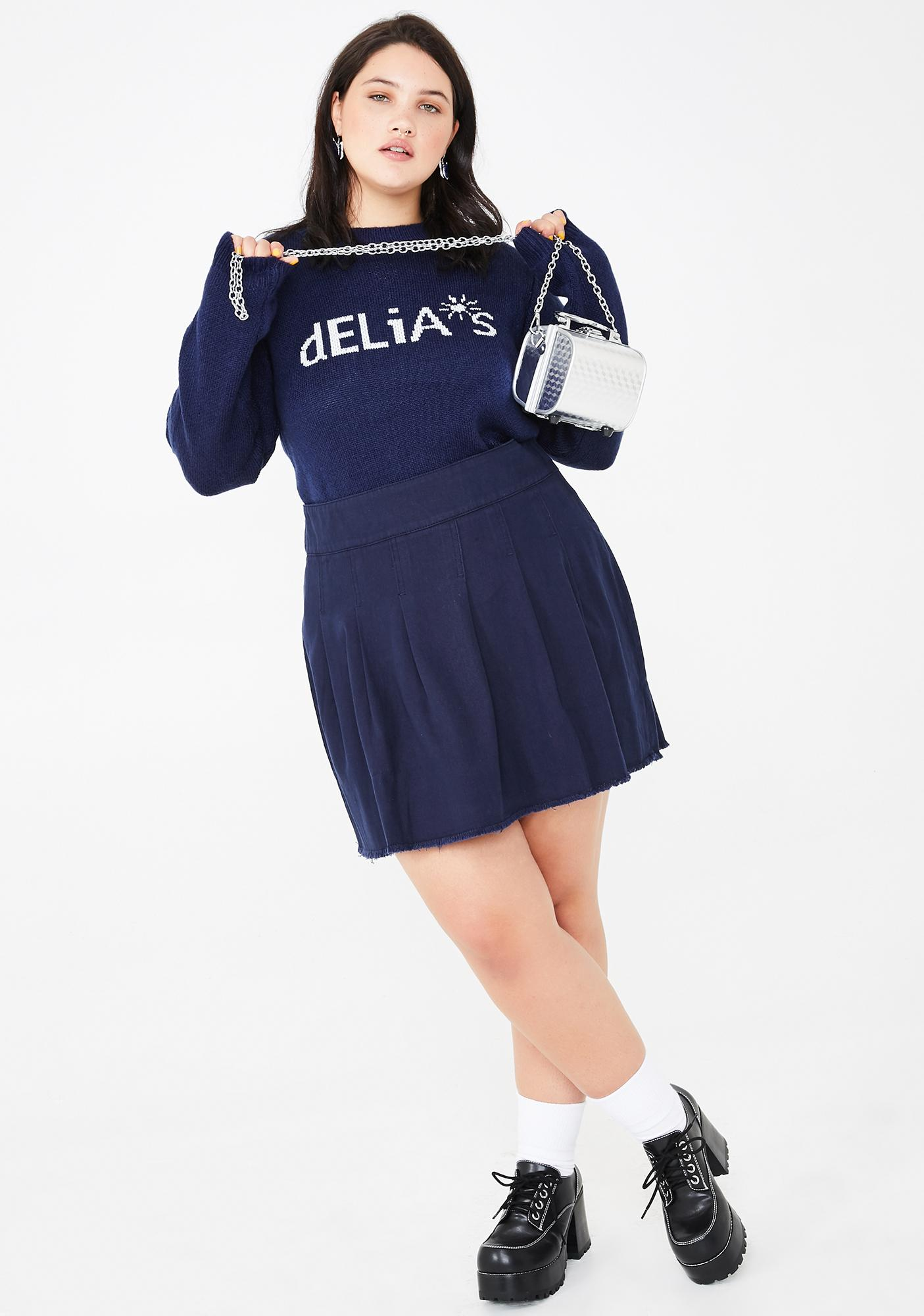 dELiA*s by Dolls Kill The Schoolgirl Clique Mini Skirt