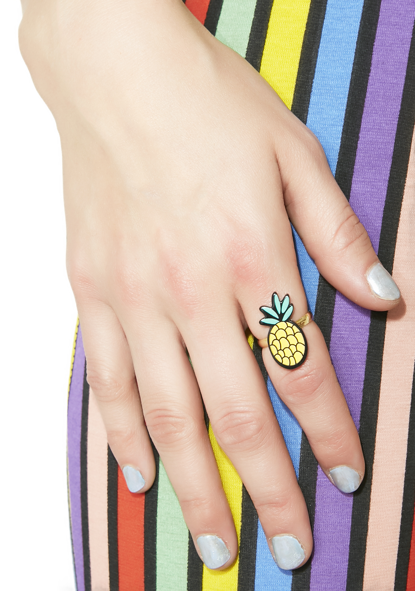 Pineapple Statement Ring