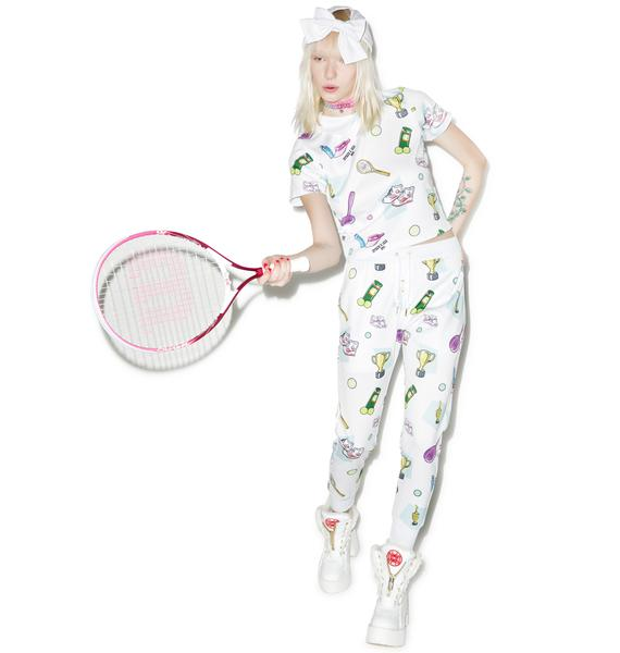 Joyrich X GIZA Tennis Club Blouse