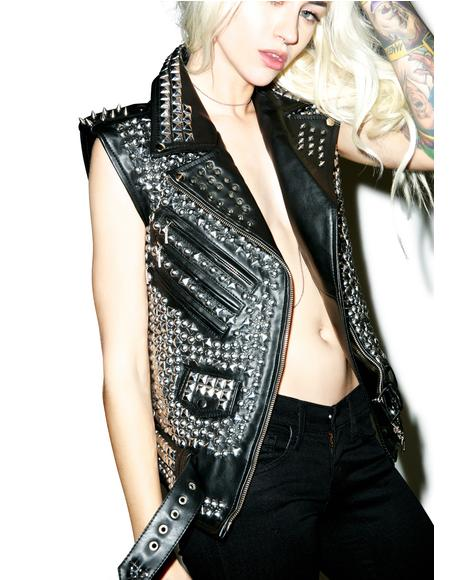 Overload Leather Vest