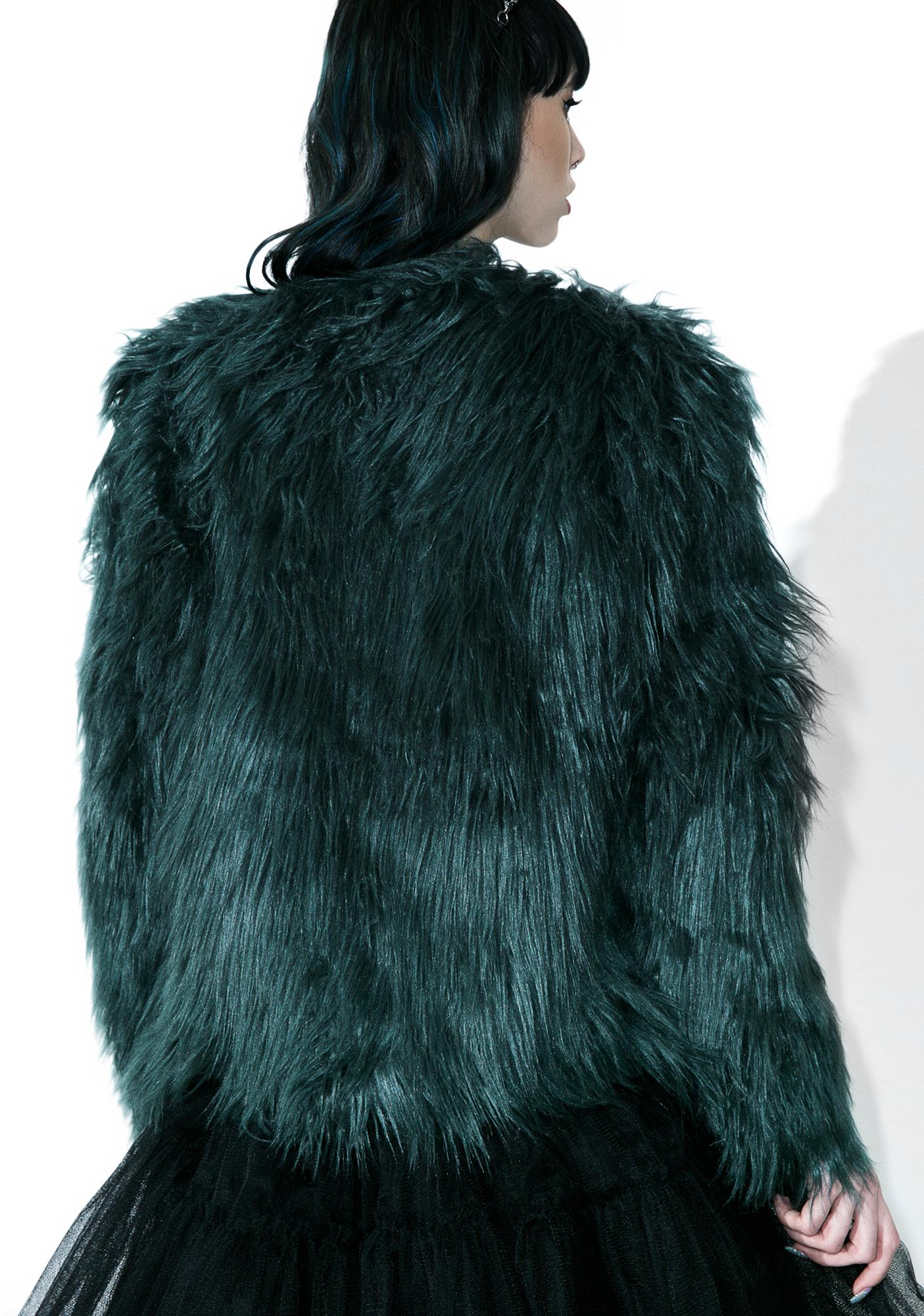 Madison Faux Fur Coat