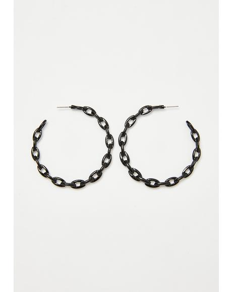 Hype Hottie Chain Earrings