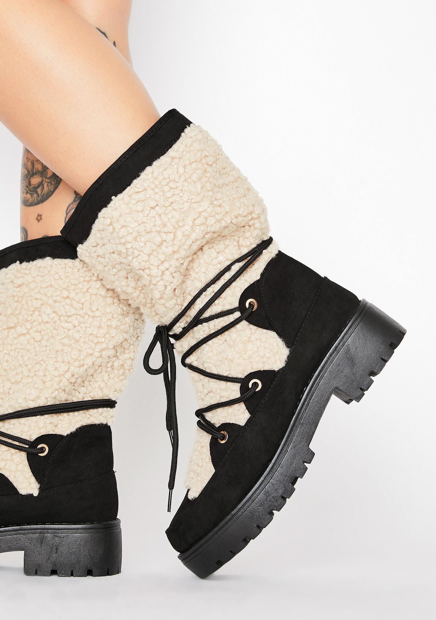 Natural Nomadic Tricks Sherpa Boots