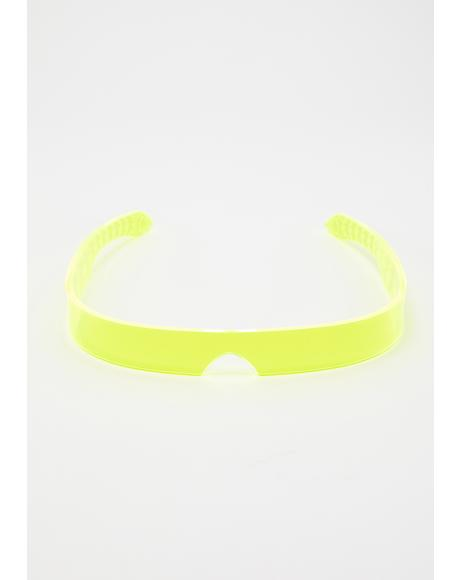Yellow Flash Visor