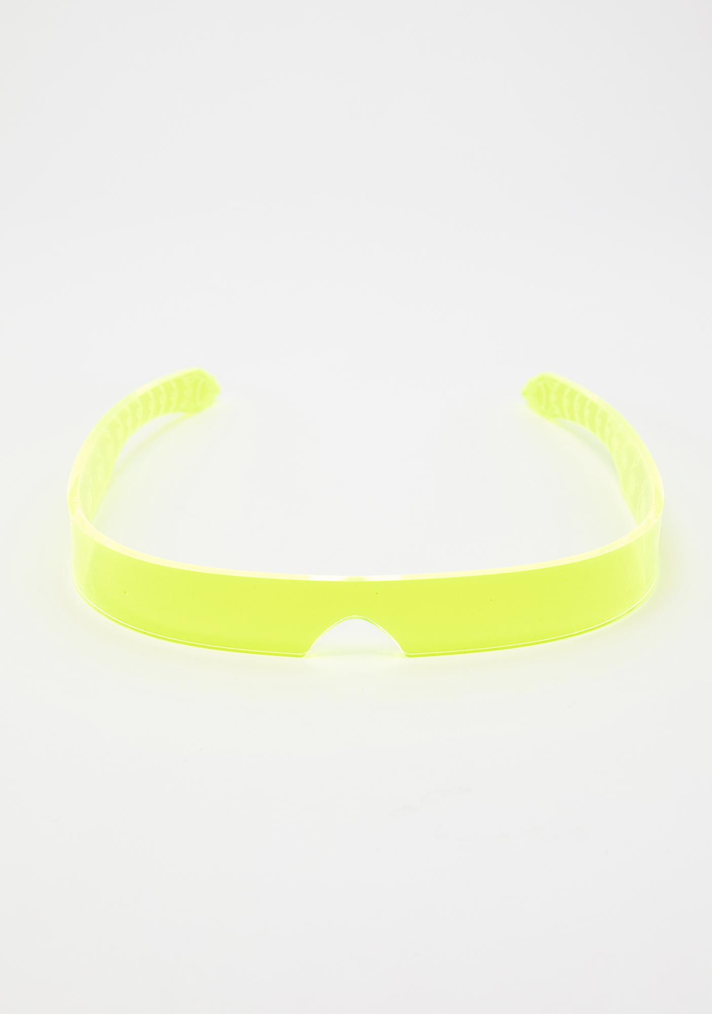 Cyberdog Yellow Flash Visor