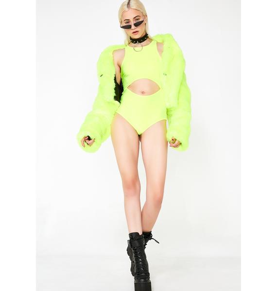 Biohazard Bae Cutout Bodysuit