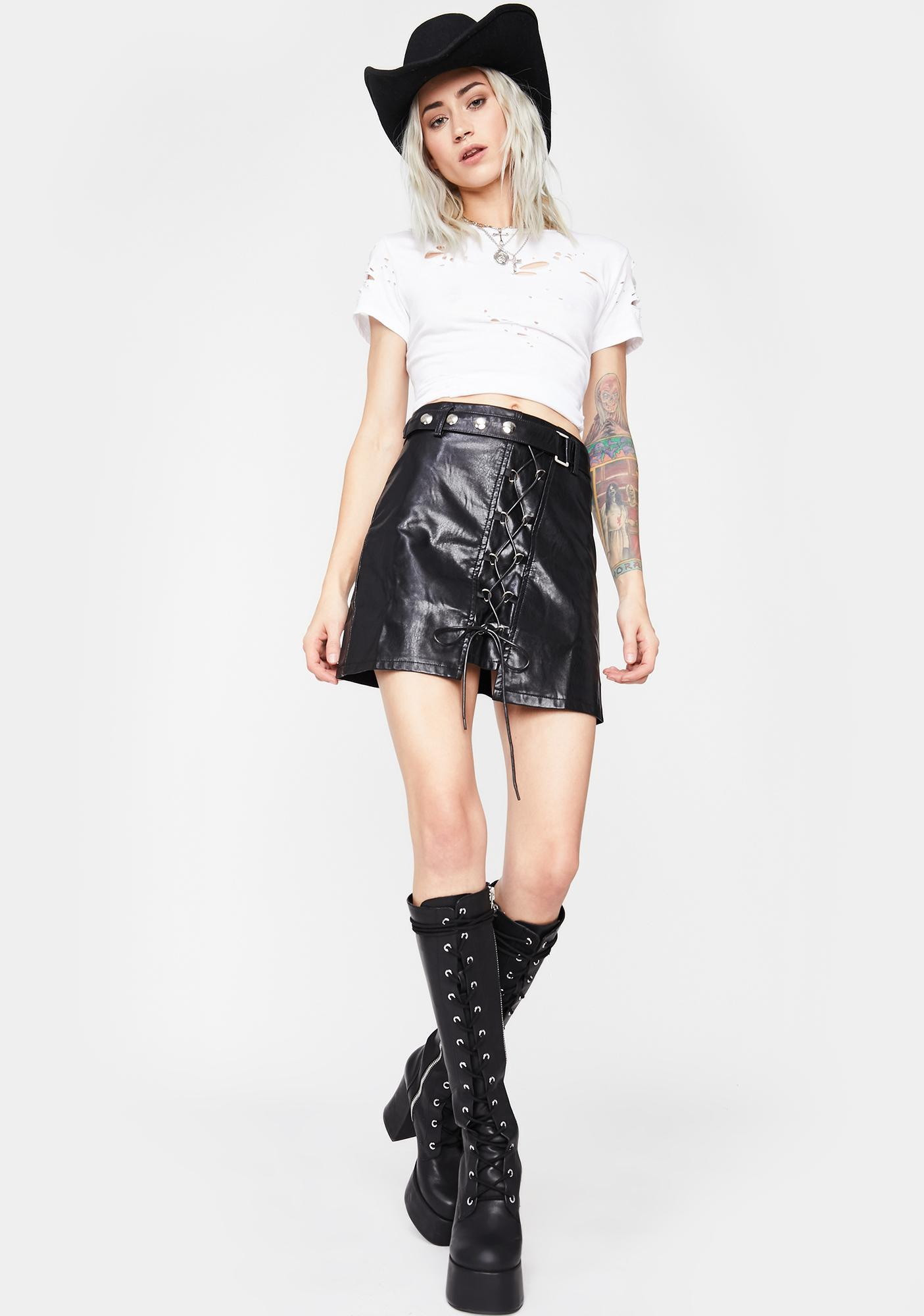 Freedom Ride Moto Skirt