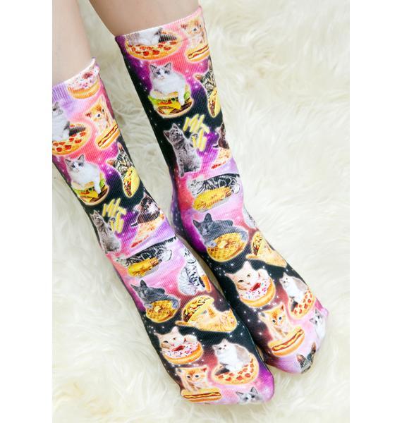 Kittens & Munchies Socks