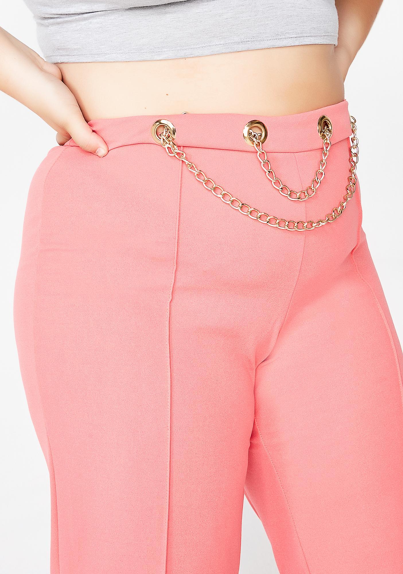 Bubblegum Off The Chain High Waist Pants
