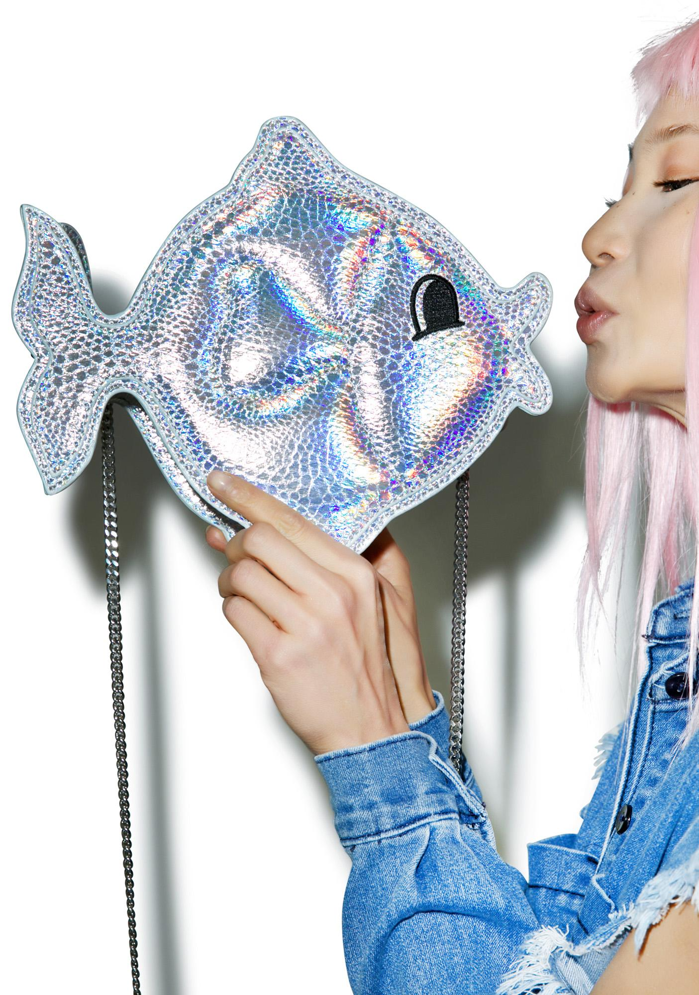 Nila Anthony Hologram Goldfish Bag
