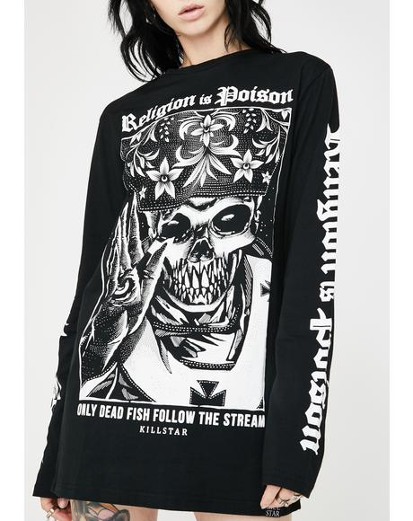 Religion Long Sleeve Tee