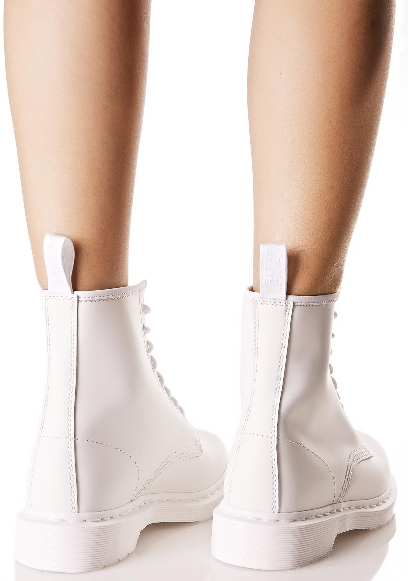 Dr. Martens Mono 1460 8 Eye Boots