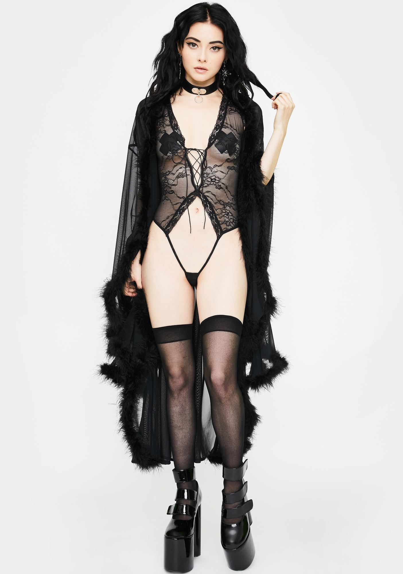 Roma Wicked Deviant Lace Teddy