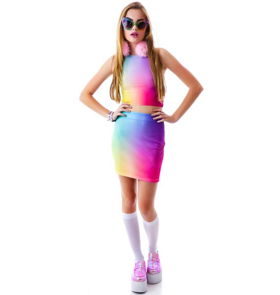 O Mighty Unicorn Puke Skirt