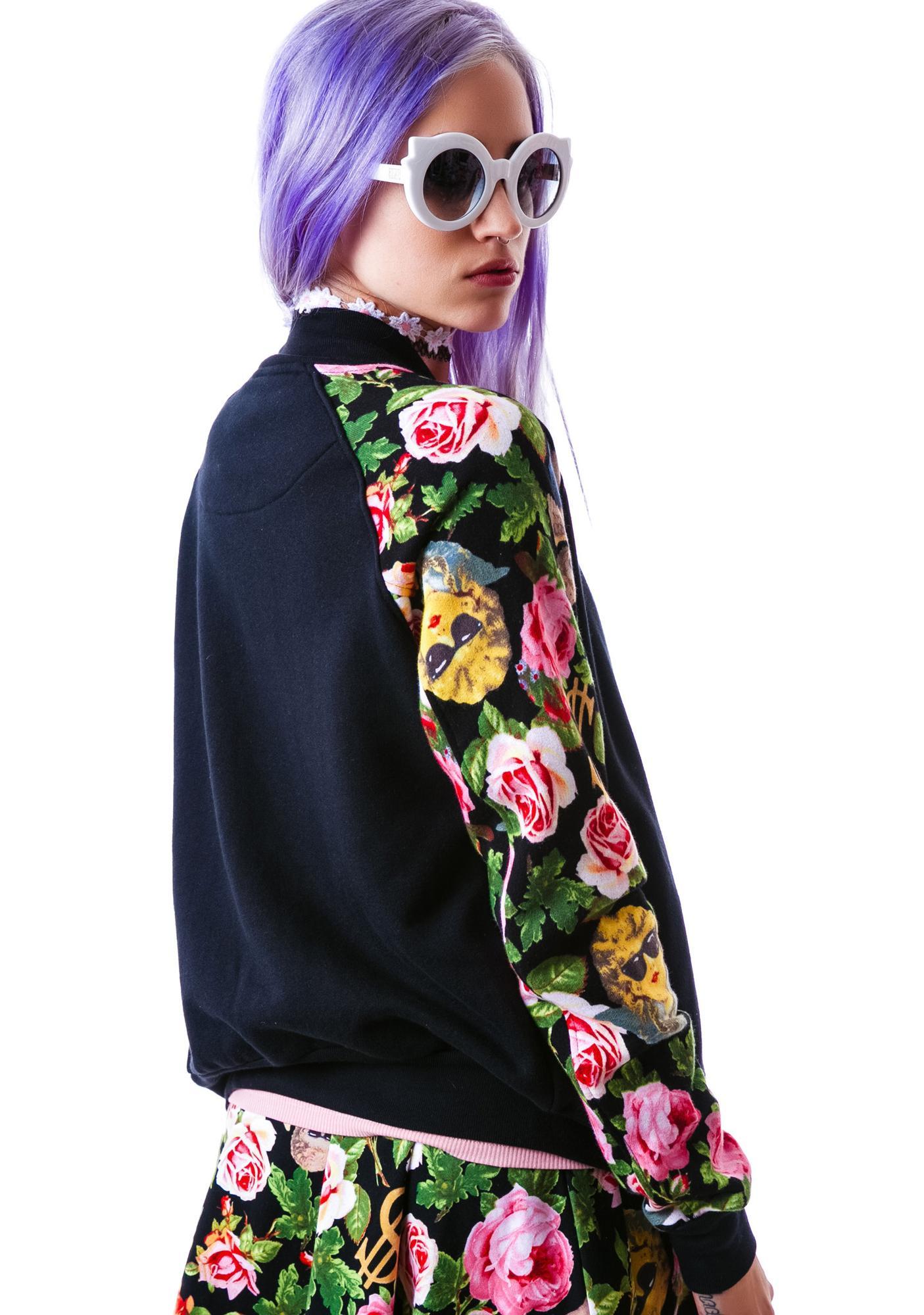 Joyrich Angelic Rich Floral Athletic Jacket