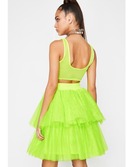Atomic Princess Vibes Tulle Skirt