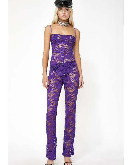 True Queen Lace Jumpsuit