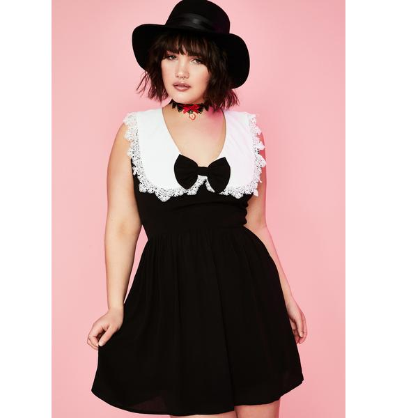 Sugar Thrillz Plz A La Mode Babydoll Dress