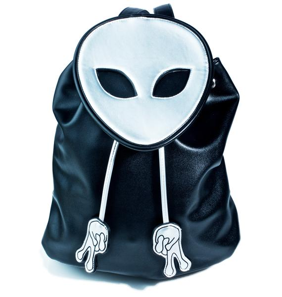 Current Mood Peace Out Bucket Backpack