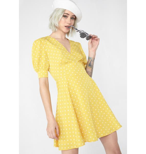 Sunshine Dream Wrap Dress