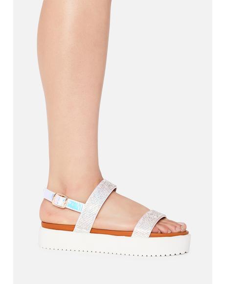 Paradise Platform Sandals