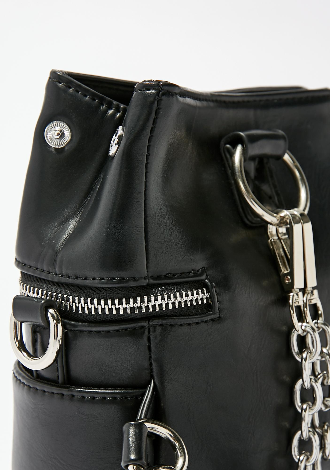 Current Mood Chain Breaker Drawstring Bag