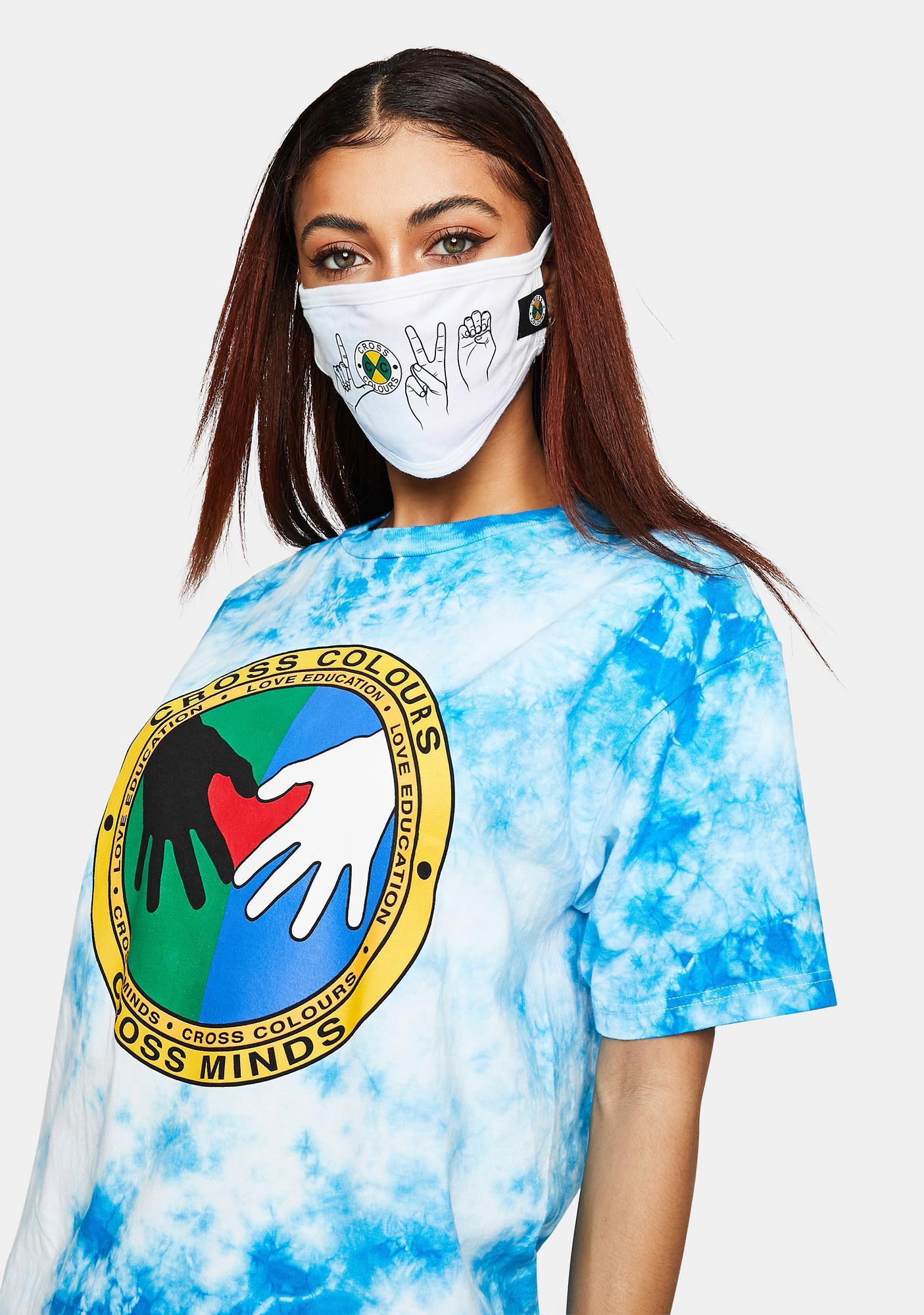 Cross Colours Cross Minds Tie Dye T-Shirt