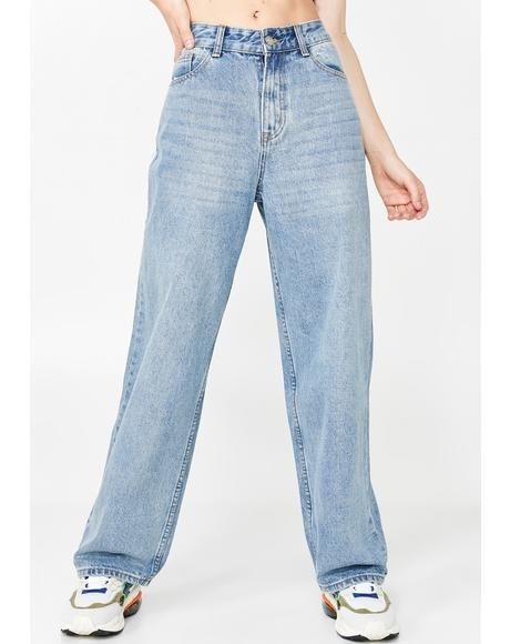 High-Waist Mom Jeans