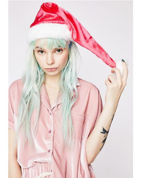 All I Want Santa Hat