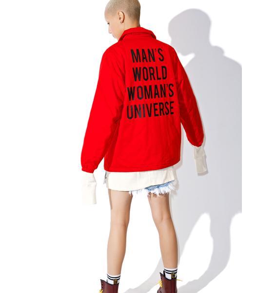 Black Scale Creatrix Coaches Jacket