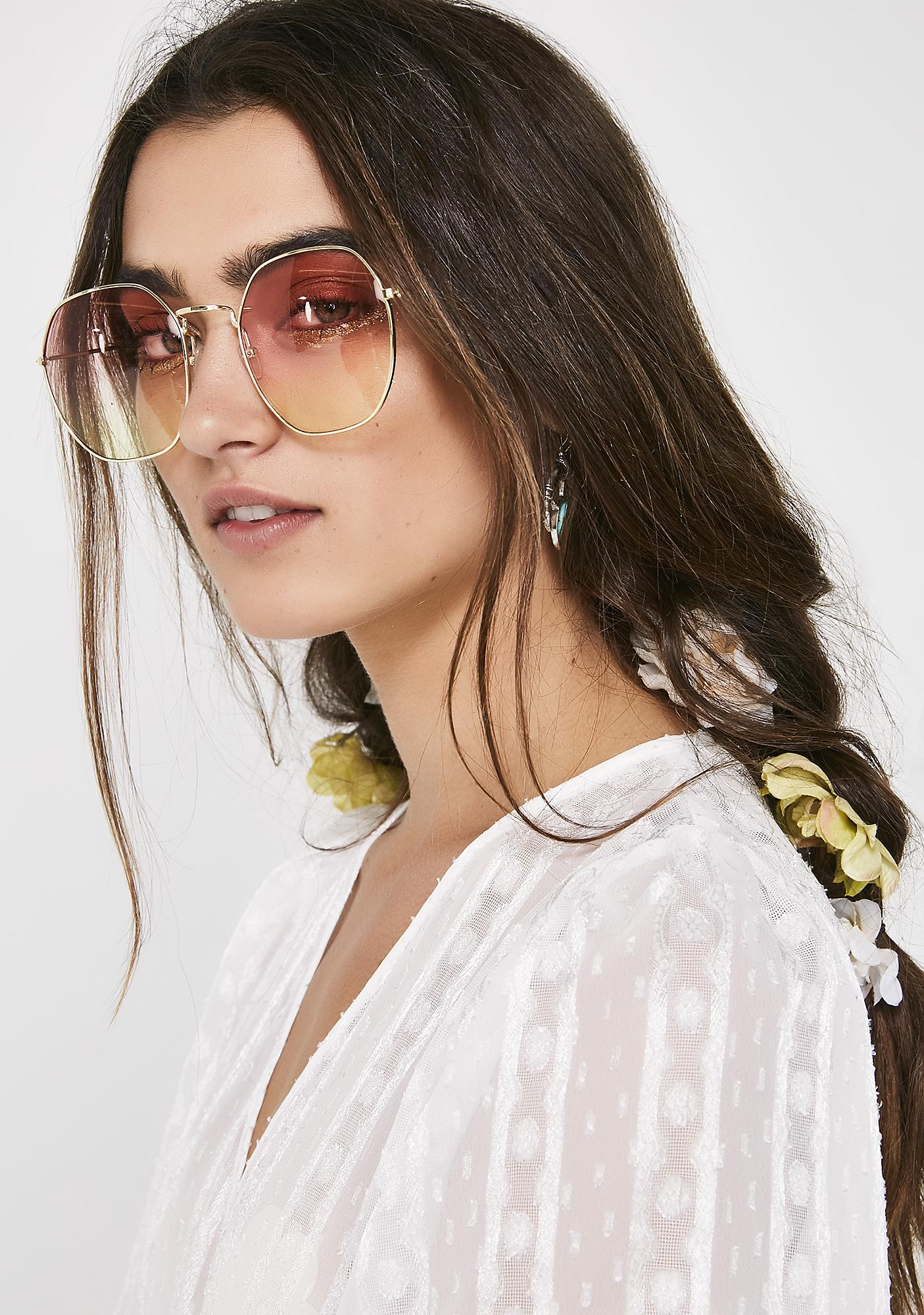 Starlit Oversized Sunglasses