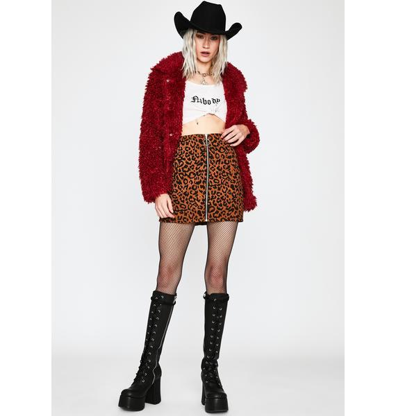 Rampage Queen Mini Skirt