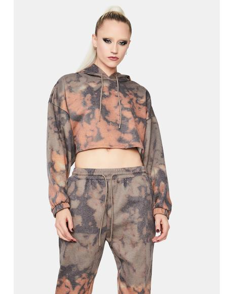 Switch Things Up Tie Dye Jogger Set