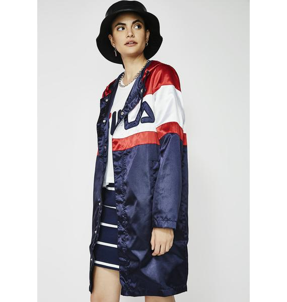 Fila Karis Satin Jacket