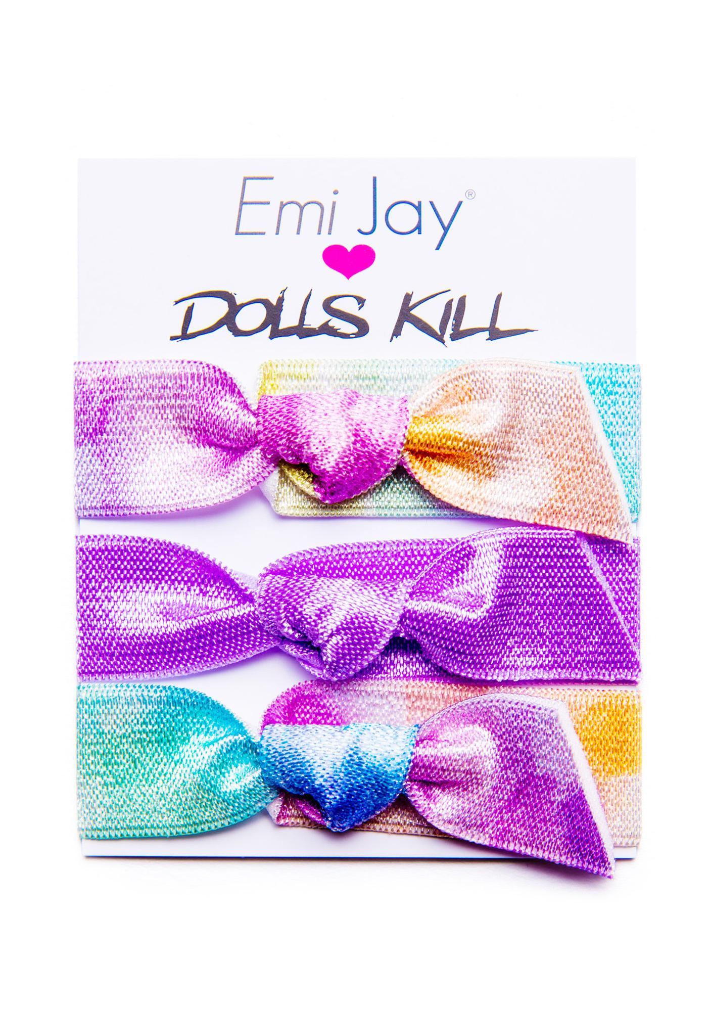 Emi Jay Watercolor Hawaii Hair Bands