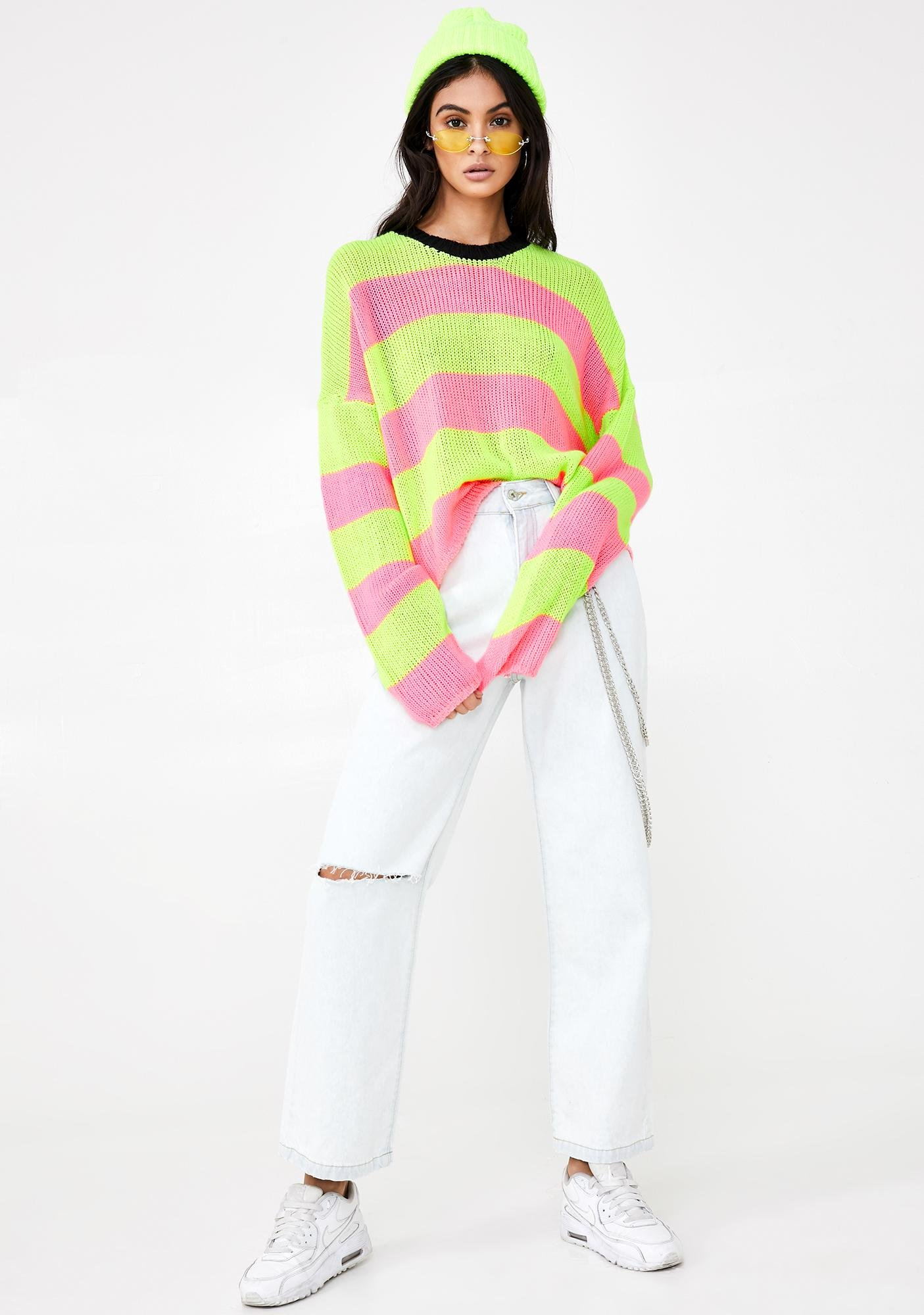 The Ragged Priest Live Wire Knit Sweater