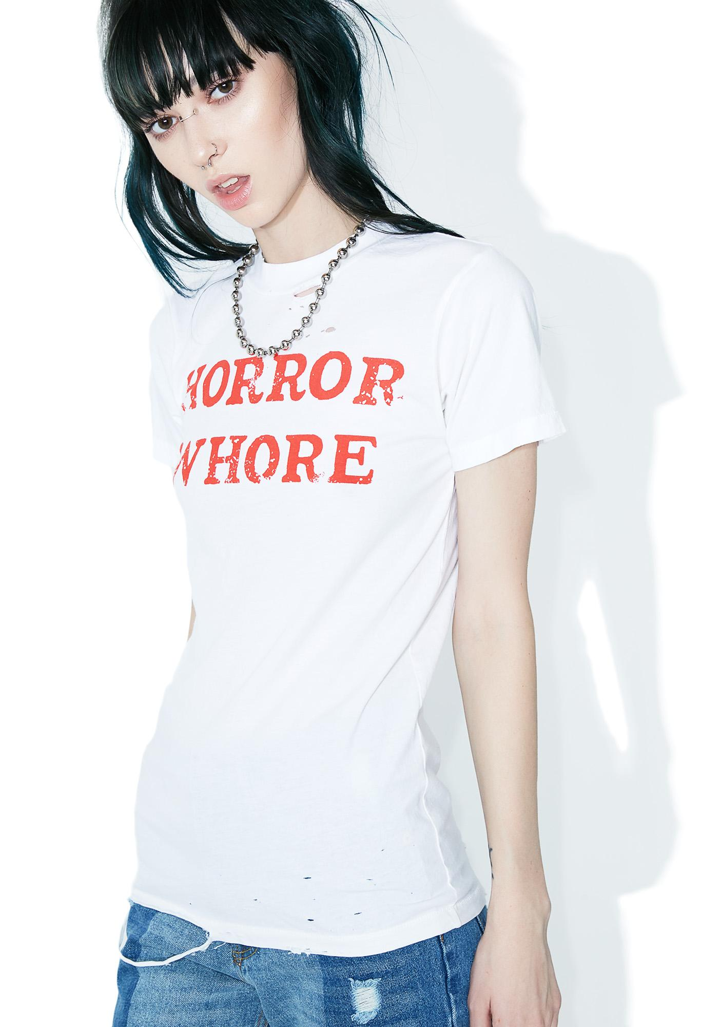 Local Boogeyman Horror Whore Tee