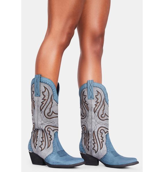Volatile Shoes Westlake Cowboy Boots
