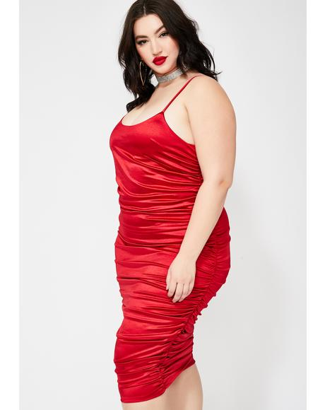 Flamin' Poetic Justice Midi Dress