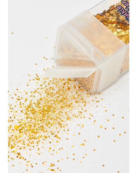 Gilded Glitterific Goddess Sparkle Shaker