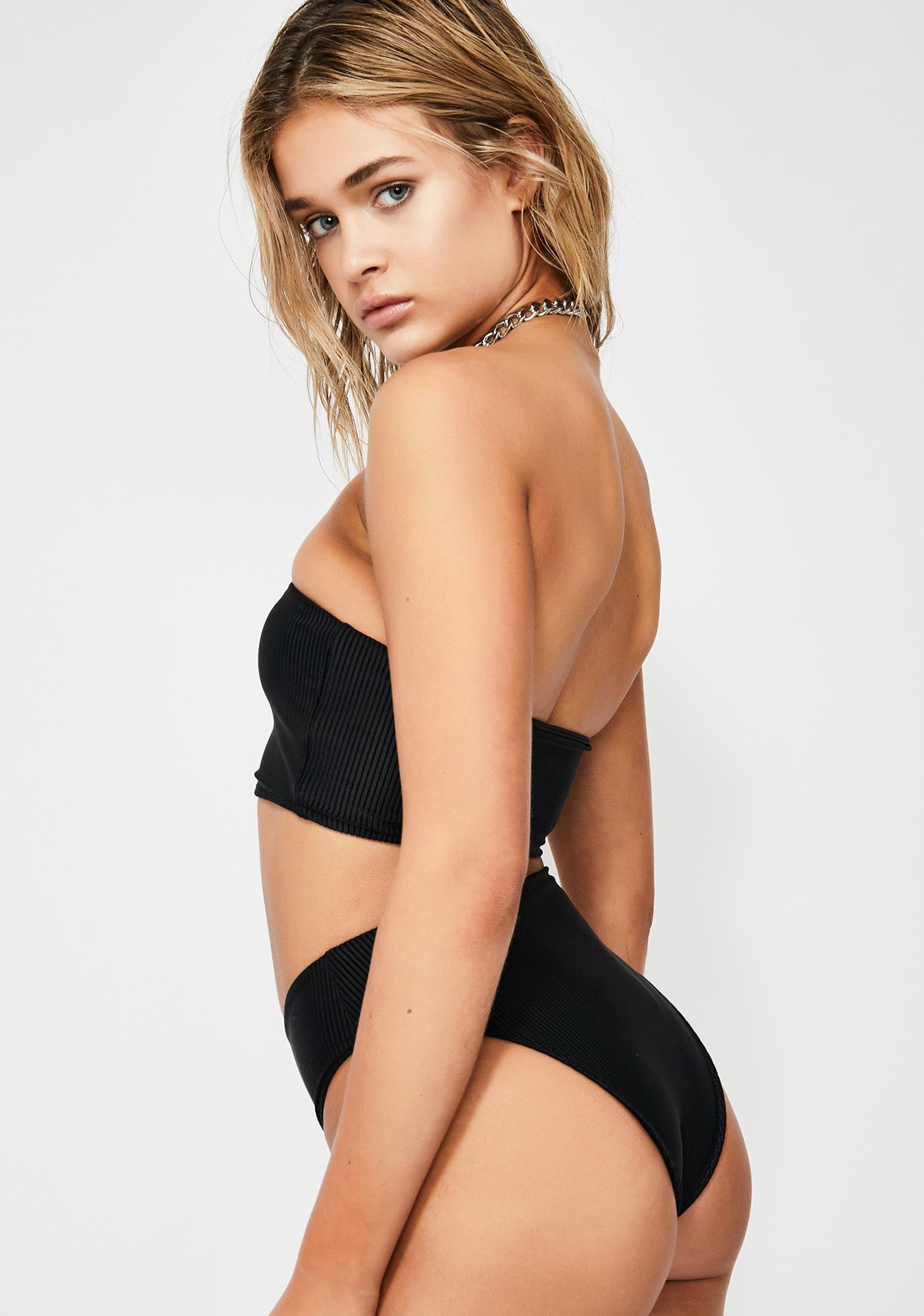 d3e17bab02993 Frankies Bikinis Midnight Jenna Bikini Bottoms | Dolls Kill
