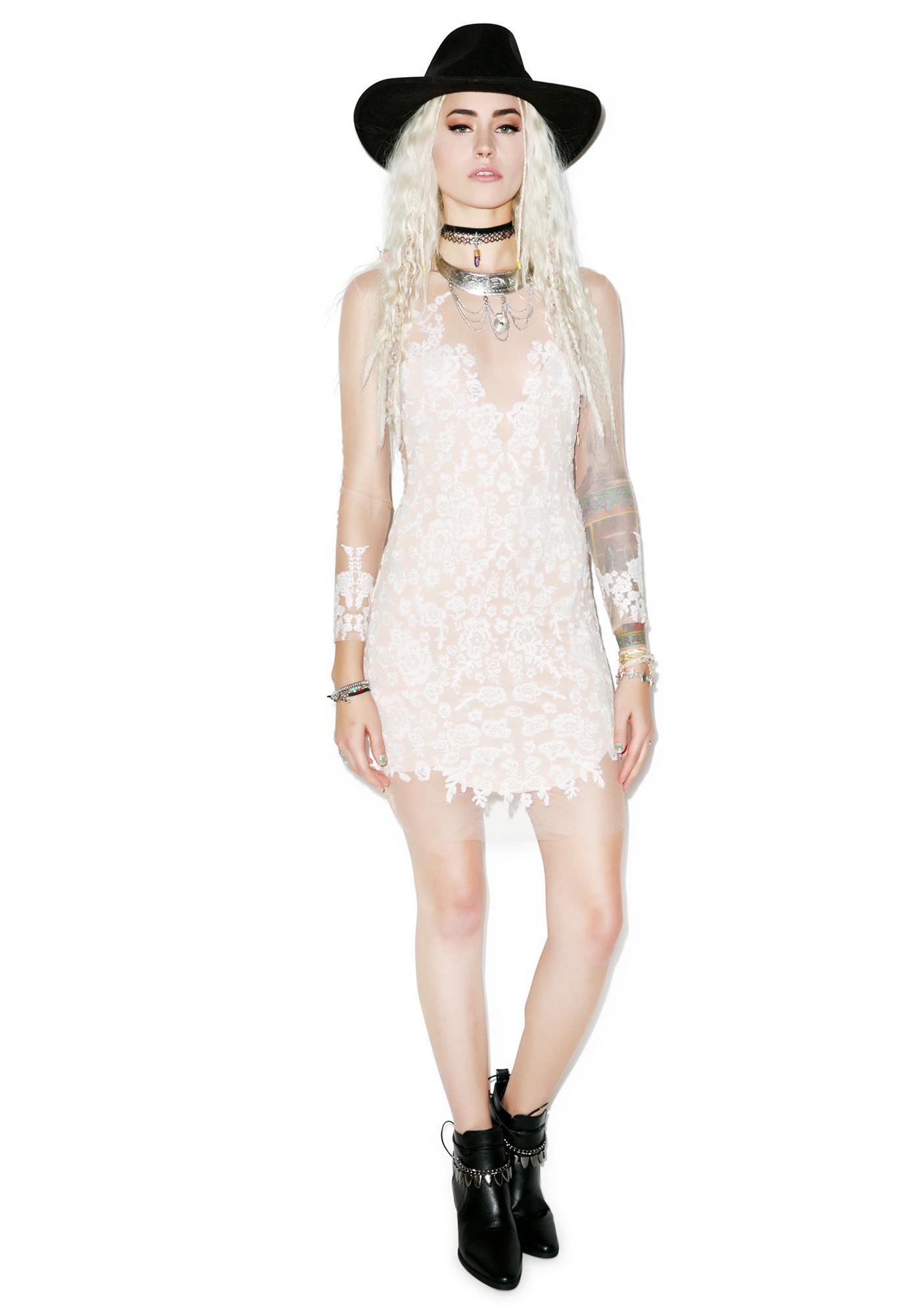 For Love & Lemons Luau Mini Dress