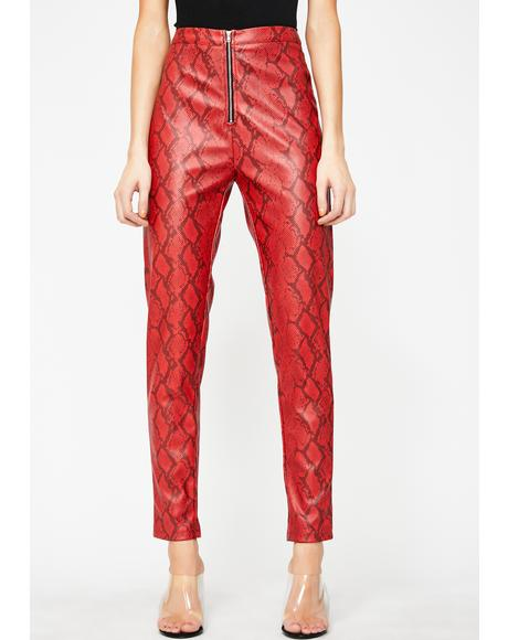 Rattlin' Savage Snakeskin Pants